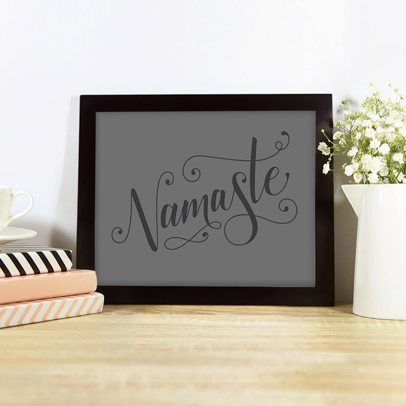 Namaste  inspiration yoga studio motivation breathe zen image 0