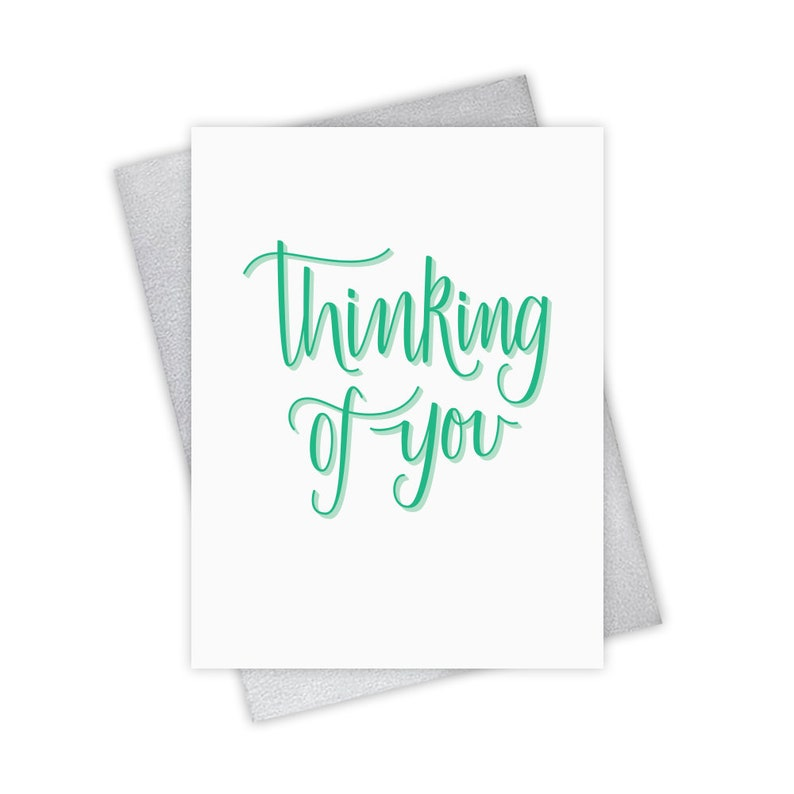 Thinking of You  Sympathy Greeting Card get well feel image 0