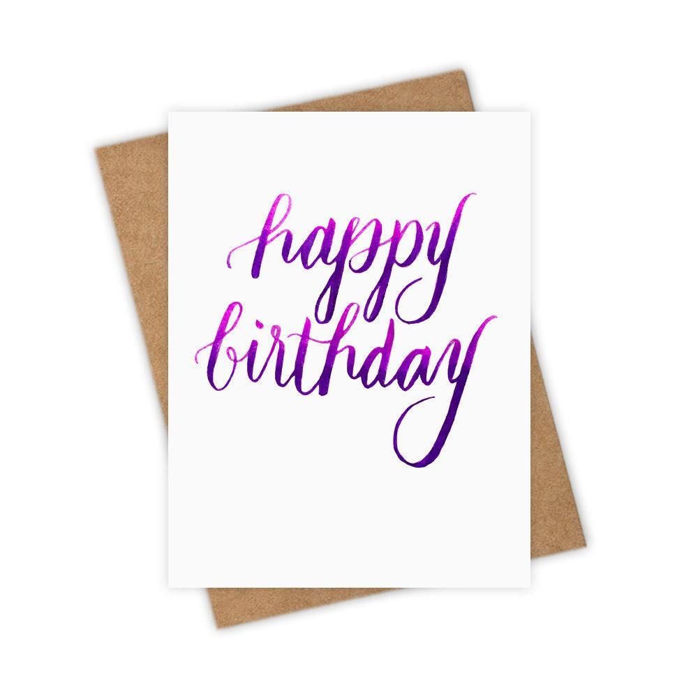 Happy Birthday Greeting Card Fun Love Friendship Etsy