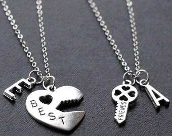 Best Friend Necklace Etsy