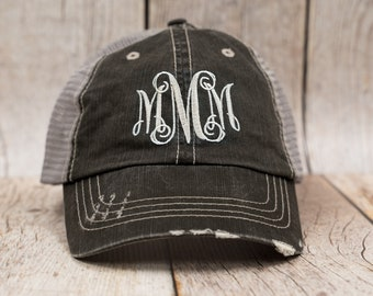 Monogrammed Hat ccd0cfbe110d