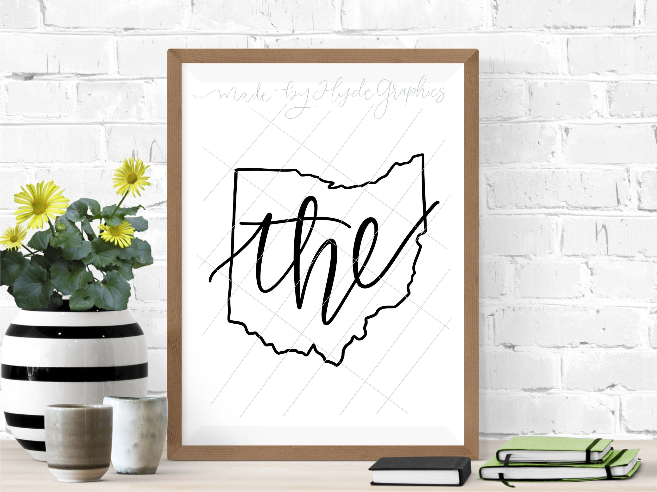 The Ohio State Outline Svg File Ohio Outline Svg Design Etsy