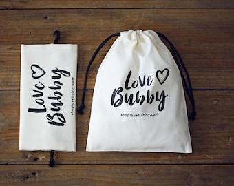 Custom white fabric bag Muslin drawstring pouch personalize LOGO wedding favor gift packaging reusable bag-xyhk 55