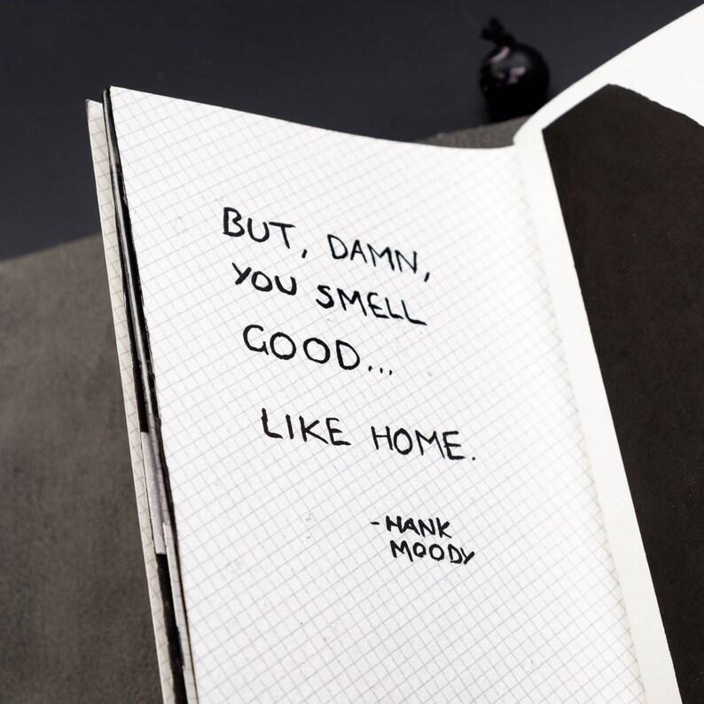 Traveller's Notebook Diagonal Grid Inserts  PASSPORT size image 0