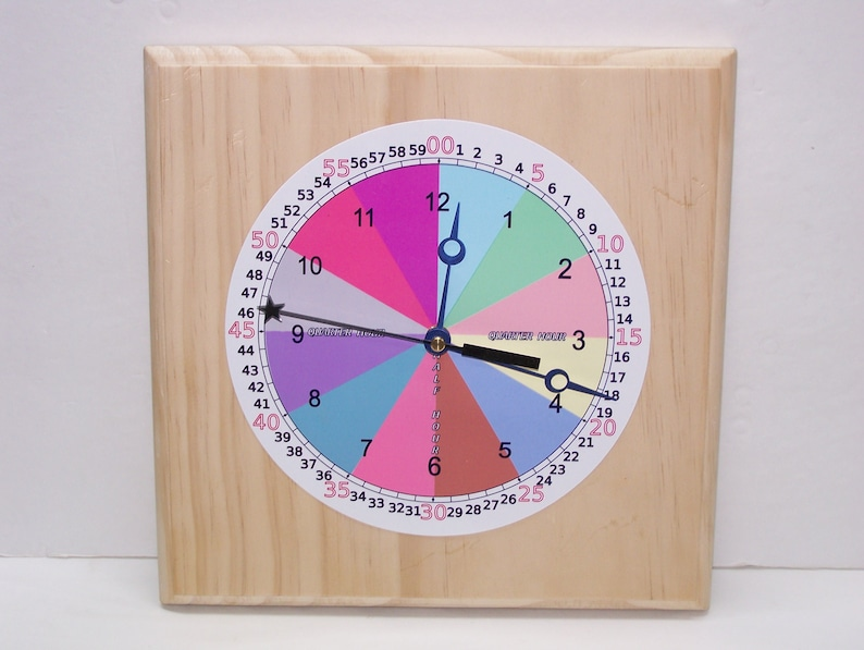 The TIME CLOCK, Teach Time, The Time Teacher, Teaching Time, Telling Time