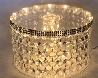 Chandelier Crystal CAKE STAND