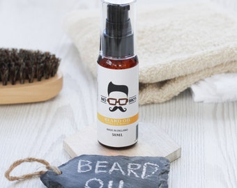 Mo Bro's Premium Vanilla and Mango Beard Conditioning Oil 50ml With Argan And Vitamin E