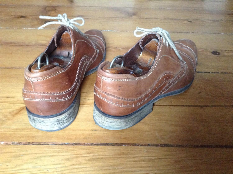 Chaussures Richelieu Vintage British C1 Derbies Marron xpIwq5wEZ