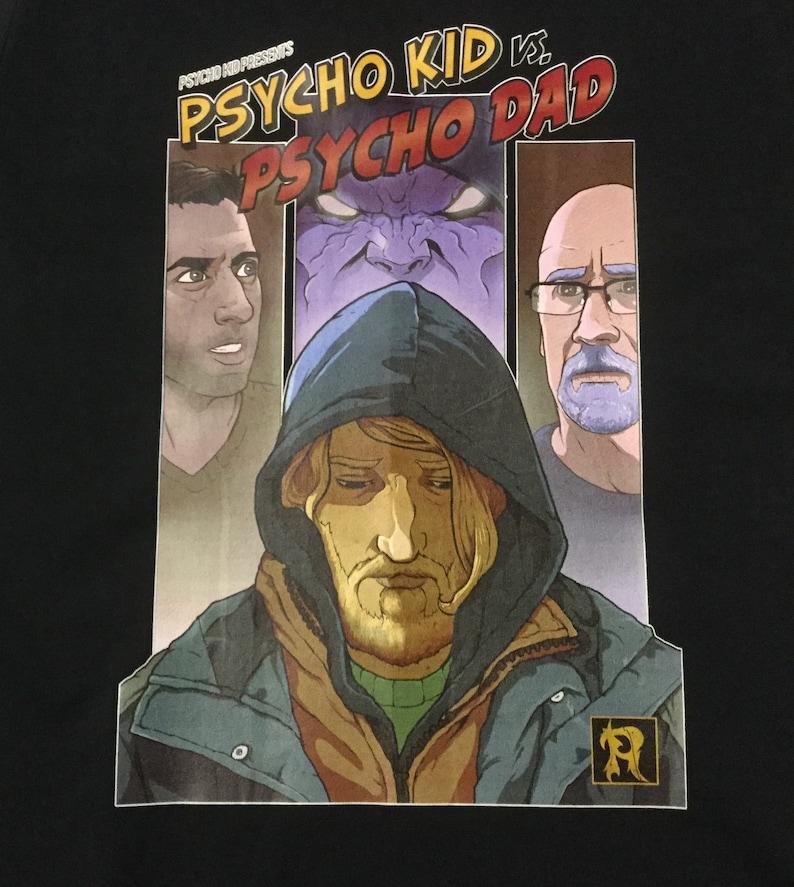 5390092ab PSYCHO KID PRESENTS Psycho Kid Vs Psycho Dad T-Shirt | Etsy