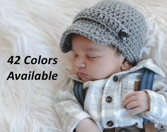 119011de72d Baby newsboy hat