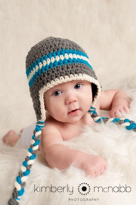 7eb0c2a2c3b Newborn Boy Photo Prop Crochet Baby Hat Baby Hats for Boys