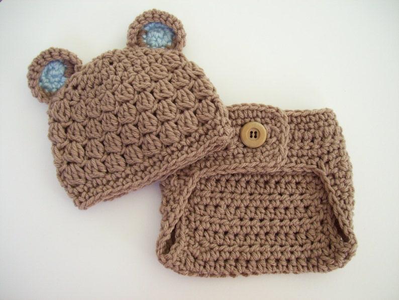 c691dd006 Newborn Baby Bear Outfit Crochet Teddy Bear Outfit Baby Bear   Etsy