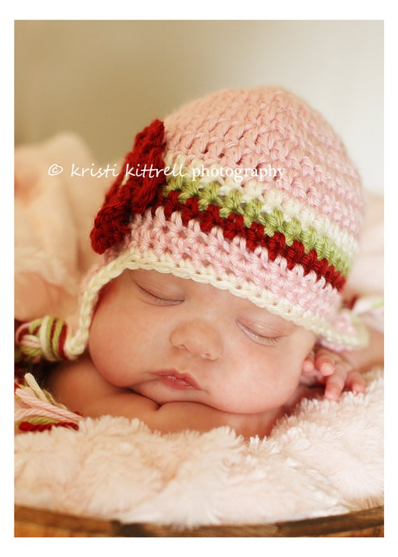 941df01d475 Toddler Girl Ear Flap Hat Crochet Baby Hat Baby Girl Hat