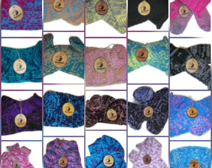 Personalised Handmade Wool Unisex bed / sofa Knitted Socks Casual Novelty Custom Custom Made to Order  #Socks