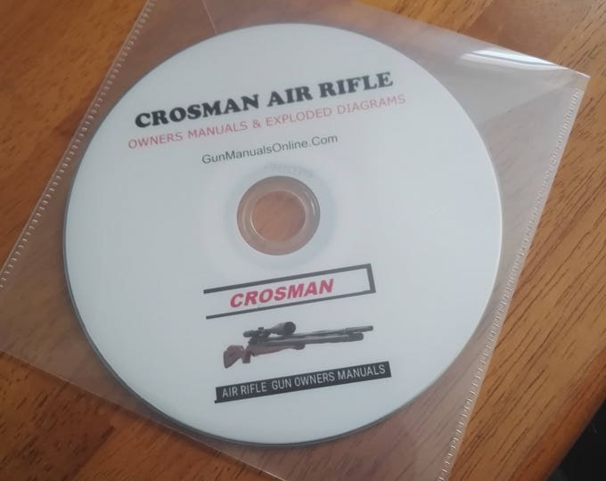 CROSMAN Airgun air rifle pellet Gun owners user manual collection  Retrosheep#Airgun #Gun