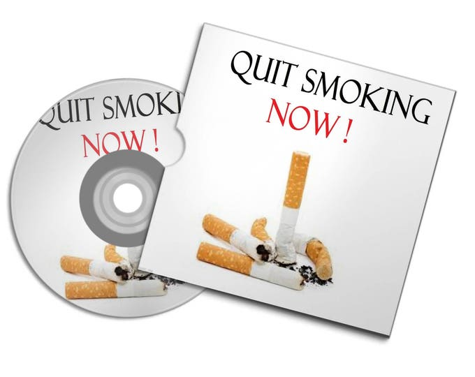QUIT Stop SMOKING NOW ! Audio Cd binaural beats brain wave therapy quiet your brain with Natural therapy #quitsmoking
