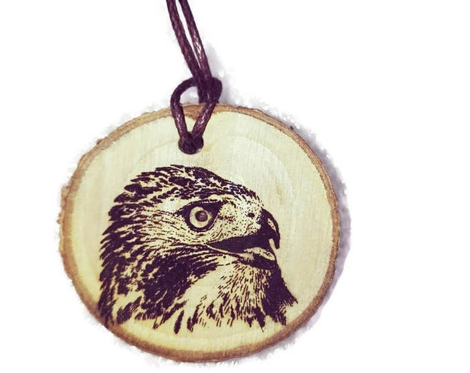 American Red Tailed Hawk Buzzard  Bird Of Prey Personalized Engraved Gift Key Fob Key ring Air Freshener Gift Free Engraving Gift Ideas#Etsy