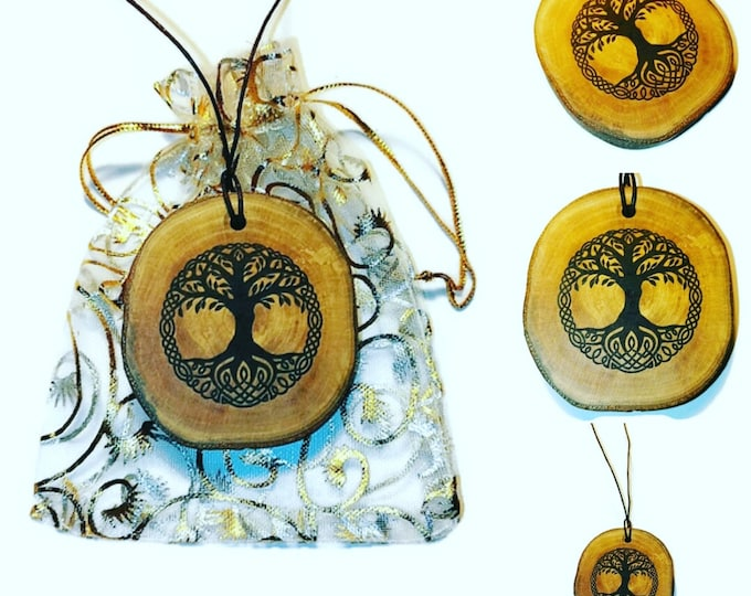 Tree of life Yggdrasil Personalised Bespoke Necklace Pendant Charm Earrings keyring or Scented Charms