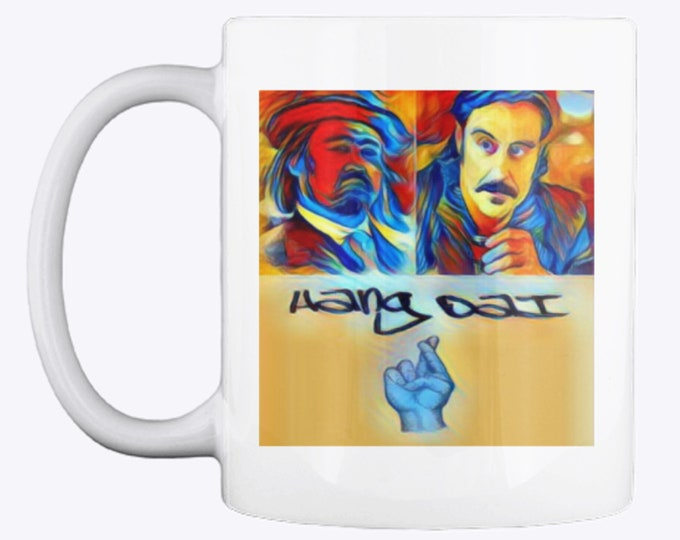 Retrosheep Deadwood Hang Dai Al Swearengen Mr Wu Brothers Fathers Day Customizable Personalised Mug Gift ADD Photo  Logo or Text #Deadwood