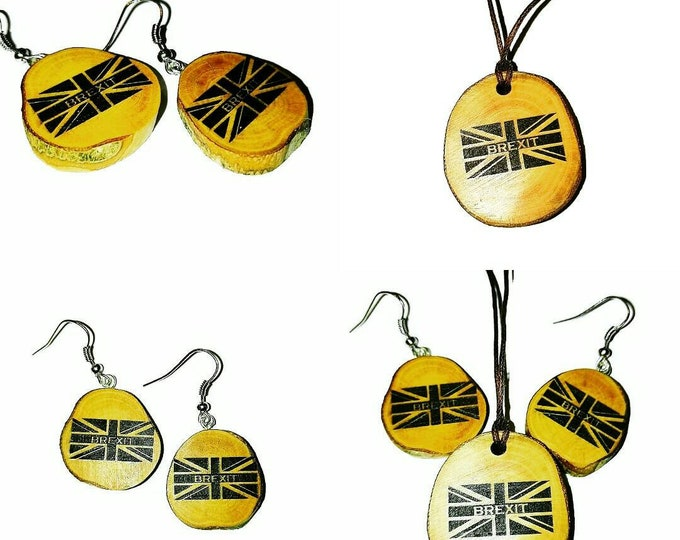 BREXIT JEWELLERY Necklace Pendant Charm Earrings Keyring Gift