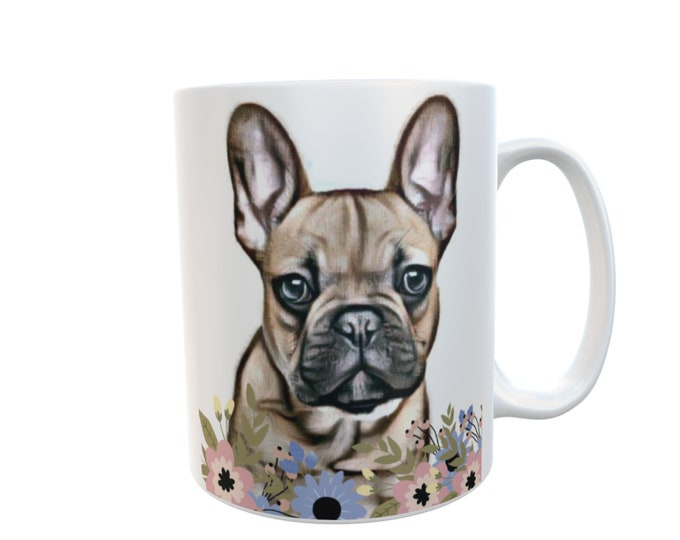 Dog Mug Gift  Various Dog Breeds Retro Novelty Personalised White Ceramic 11oz Mug Customizable Mug Gift ADD Photo  Logo or Text #Dogs