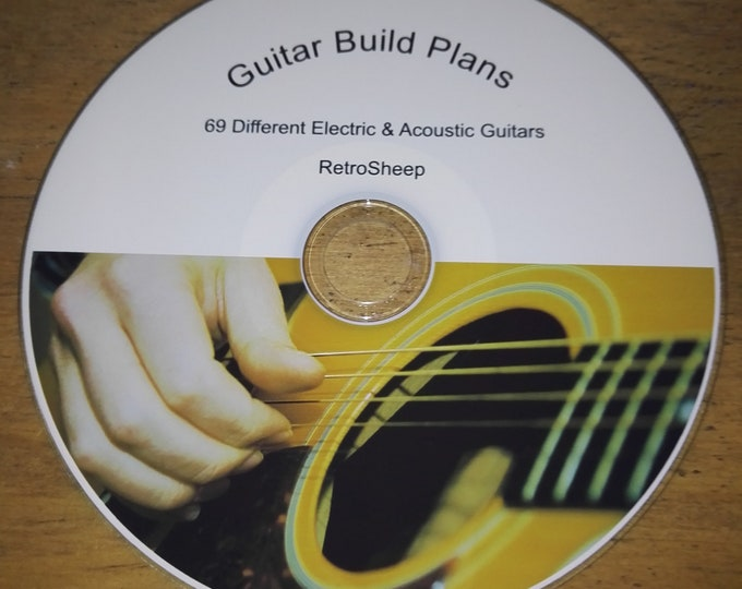 Retrosheep Build your own GUITAR ELECTRIC ACOUSTIC designs plans gibson fender jackson and more #guitar