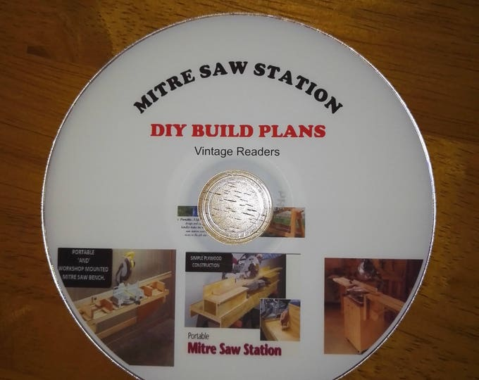 DIY Woodworking BUILD your own portable miter / mitre saw workshop bench  #Etsy