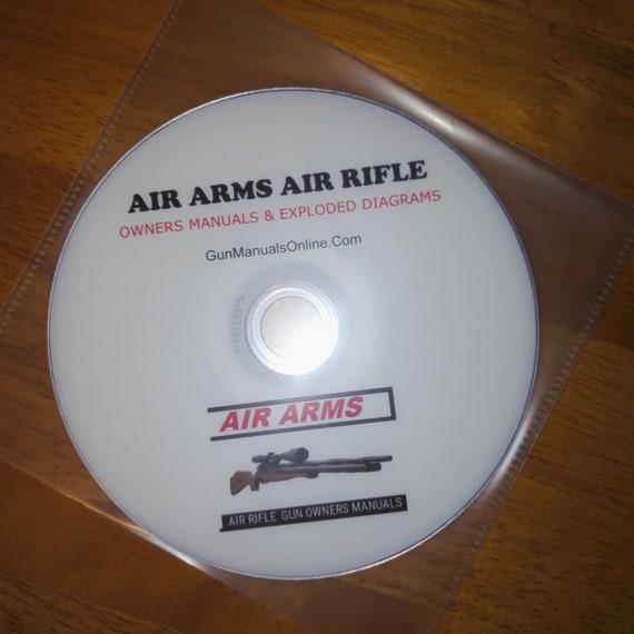AIRGUN air rifle pellet gun owner's manual's rifle crossman bsa smk diana  colt weihrauch weebly scot air arms pistol air soft + free targets