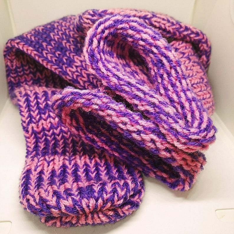 Retrosheep Red Brown Mix Handmade Wool Unisex bed  sofa Knitted Socks Casual Novelty Custom Personalised #Socks