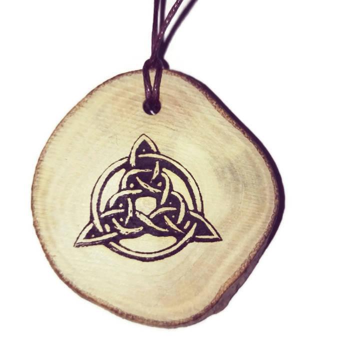Trinity Knot Triquetra Celtic Triangle Symbol Neo Pagan Celtic