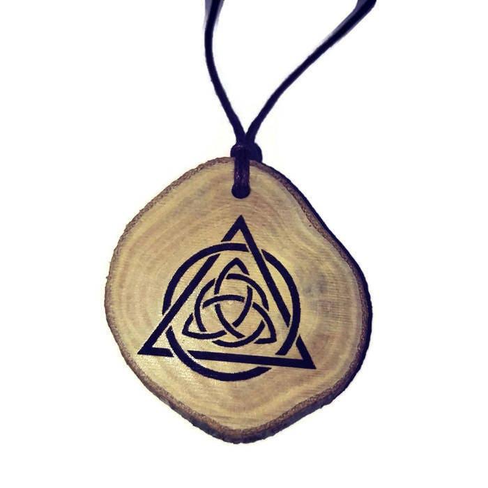 Triquetra Trinity Knot Celtic Triangle Symbol Neo Pagan Celtic