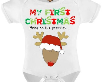 a3278bb9f8d8 First christmas vest