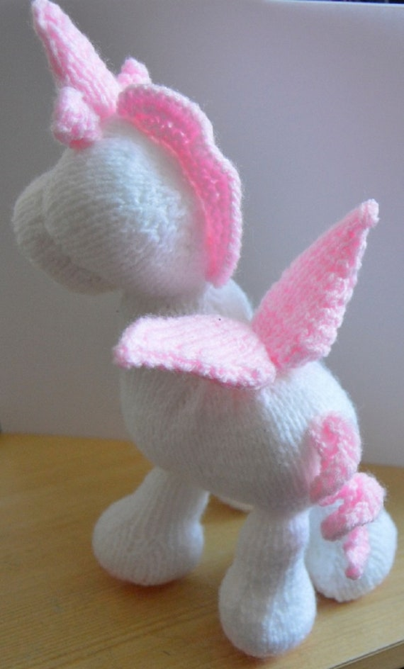 Knitting By Post Unicorn Baggles Kit Complete With Wool and Knitting Pattern