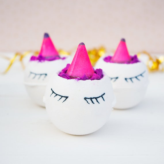 Sleeping Unicorn Bath Bombs