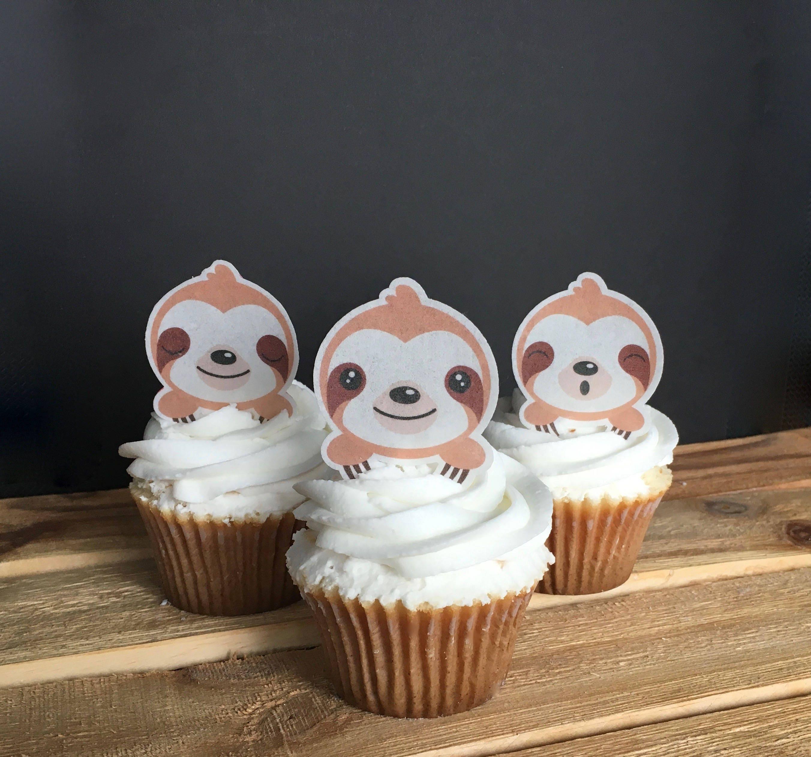 24 X HÜbsch Neu Baby Backzubehör & Kuchendekoration Es Ist Ein Junge Essbare Cupcake Topper Kuchen Wafer