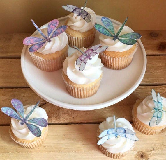 Dragonfly Or Dragonflies Birthday Wedding And Bridal Shower
