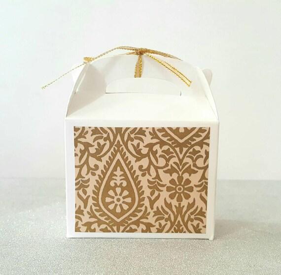 Favor Boxes Wedding Favor Boxes Indian Wedding Favors Etsy