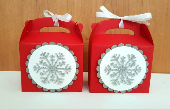 50 - Christmas Candy Boxes