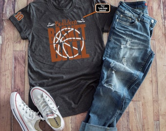 08317c8f069 Basketball Mom Shirt, Custom Basketball Mom Shirt, Basketball Mom Bling  Shirt, Plus Size Basketball Mom Shirt