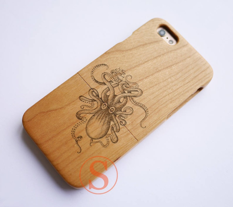 coque iphone 6 poulpe