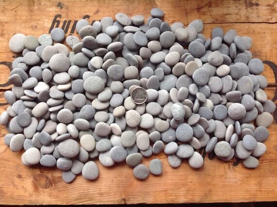 300 gris galet en vrac pierres approvisionnement de lart | Etsy