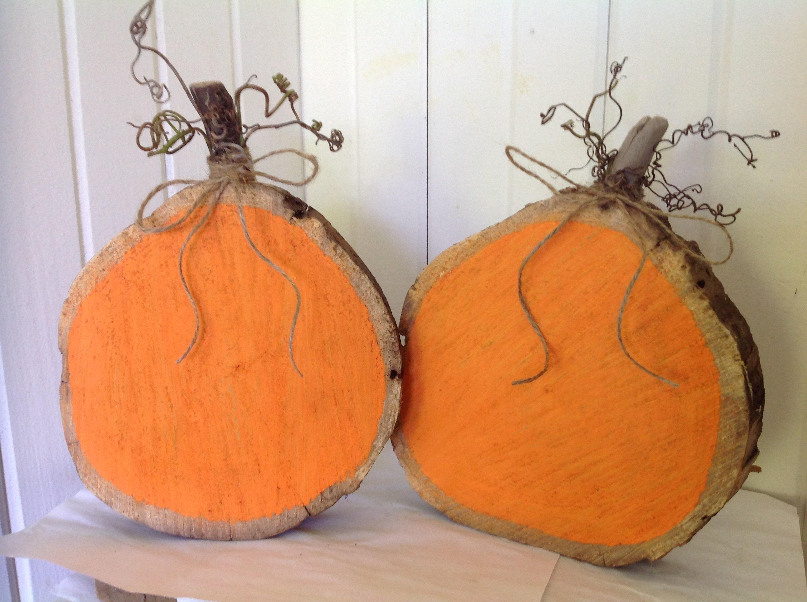 Wooden pumpkin FAll pumpkins Fall wedding decor Rustic ... - photo#41