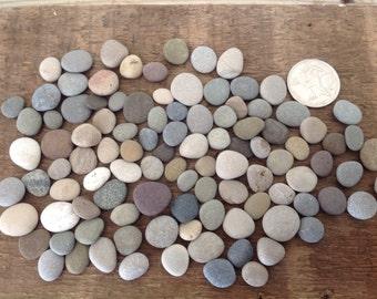 200 tiny round beach stones Mosaic supplies Mosaic crafts Pebble art Crafting stones Bulk stones Beach wedding ideas Beach stone art