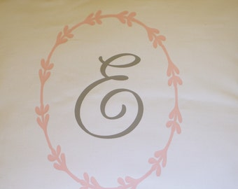 Monogram your teepee- personalize the teepee for your special one or your event