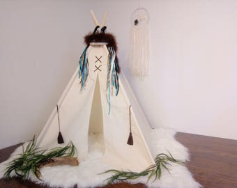 S Original toddler teepee/photo prop tent / Kids play tent/ toddler teepee photo prop