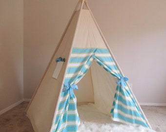 kids Teepee tent with a side window/Limited Edition from TucsonTeepee