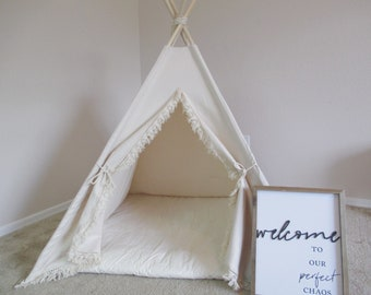 Boho Pet teepee with anti-collapse design, pet friendly designed ,dog teepee, cat teepee