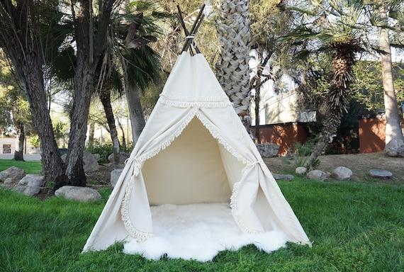 XL XXL Boho teepee 8ft kids Teepee large tipi Play tent   Etsy 92e1c6594c
