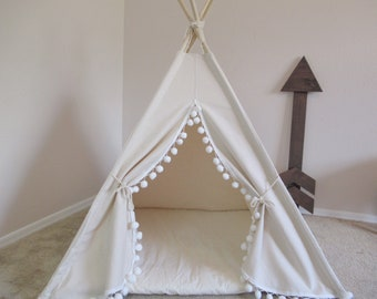 Pompom Pet teepee with anti-collapse design, pet friendly designed ,dog teepee, cat teepee