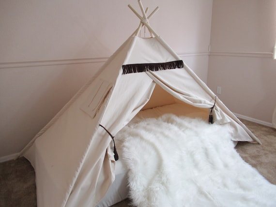 Original Wild Bed Teepee Tent Bed Canopy Teepee Canopy For Etsy